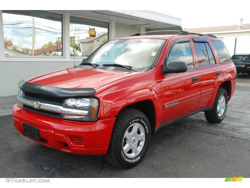 2002 chevrolet trailblazer ls victory red color medium oak. Cars Review. Best American Auto & Cars Review