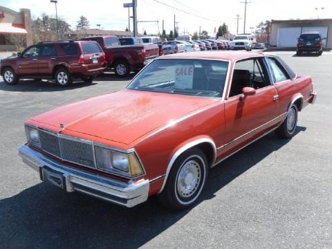 1980 Chevrolet Malibu Coupe Data, Info and Specs