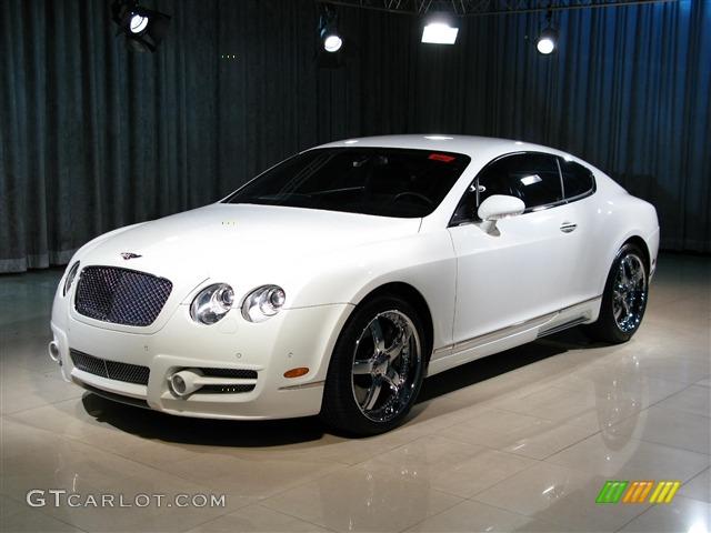 2005 Glacier White Bentley Continental Gt Mulliner Mansory 270502