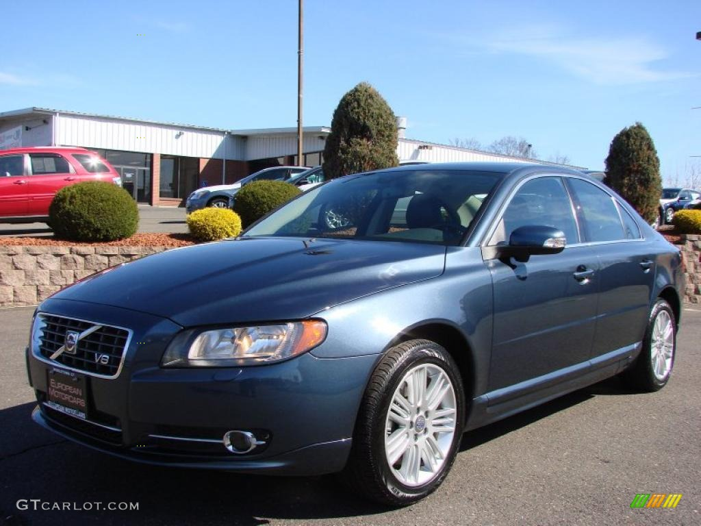 2007 barents blue metallic volvo s80 v8 awd 27113270. Black Bedroom Furniture Sets. Home Design Ideas