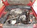 2000 Laser Red Metallic Ford Mustang V6 Coupe  photo #14