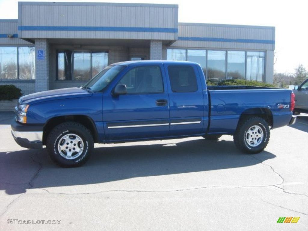2003 Arrival Blue Metallic Chevrolet Silverado 1500 Z71 Extended