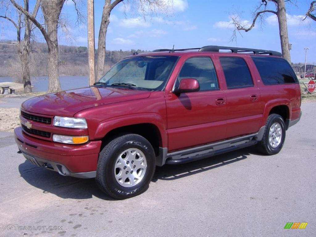 2005 Sport Red Metalli...2005 Chevy Suburban Interior Colors