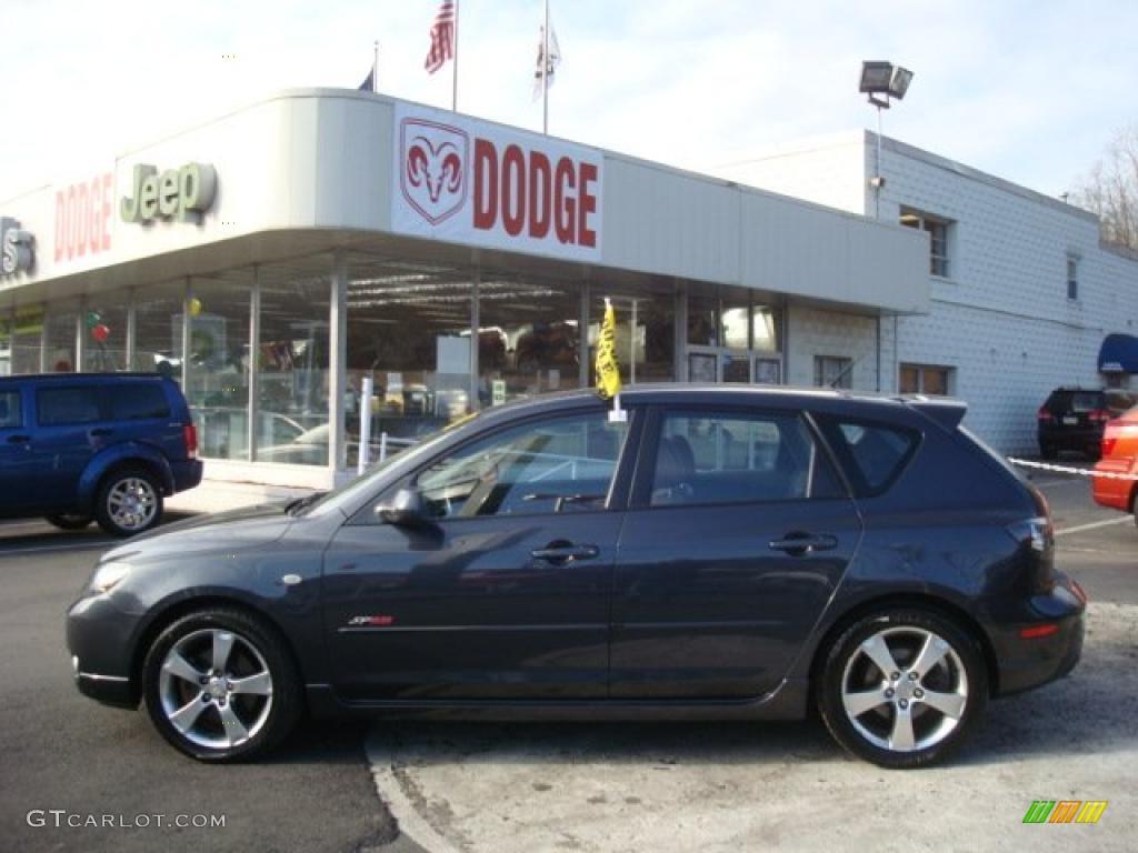2005 carbon gray mica mazda mazda3 sp23 special edition hatchback