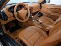 Natural Leather Brown 2004 Porsche 911 Interiors