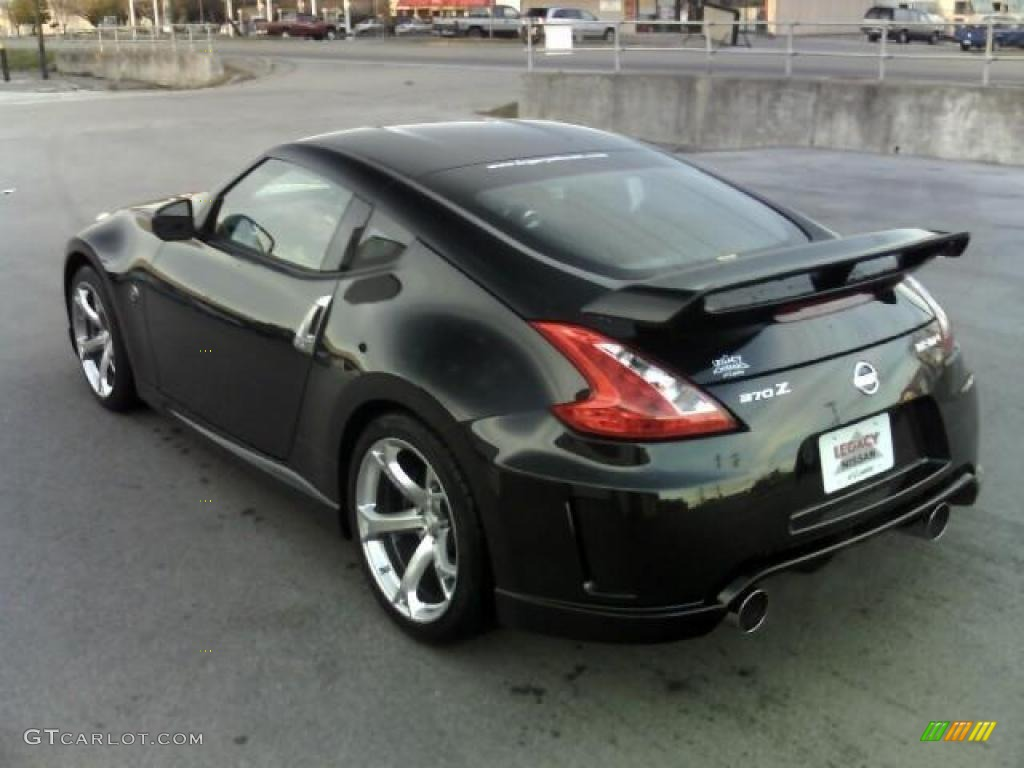 2010 Magnetic Black Nissan 370Z NISMO Coupe #27168645 Photo #7 ...