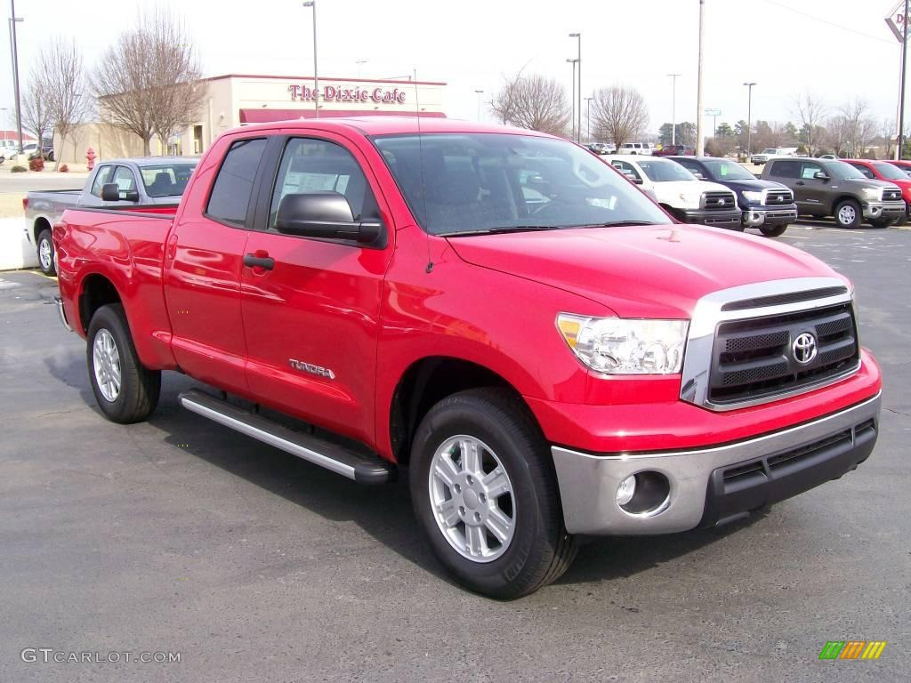 2010 radiant red toyota tundra double cab 27169205. Black Bedroom Furniture Sets. Home Design Ideas