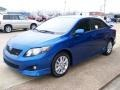 Blue Streak Metallic - Corolla S Photo No. 2