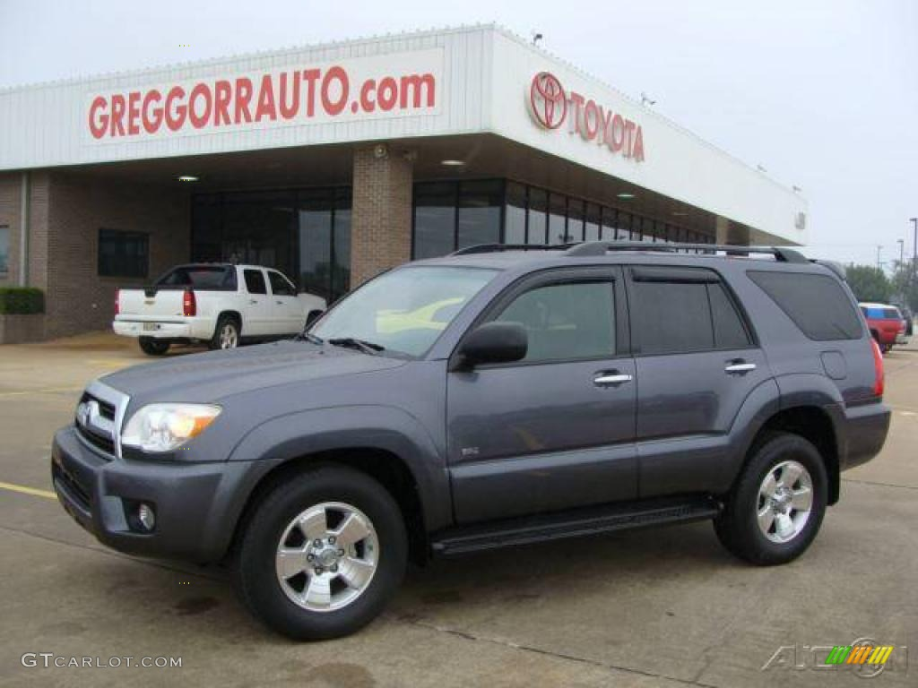 2006 galactic gray mica toyota 4runner sr5 27169397 car color galleries. Black Bedroom Furniture Sets. Home Design Ideas