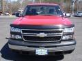 2006 Victory Red Chevrolet Silverado 1500 Regular Cab  photo #2