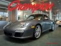 Meteor Grey Metallic 2010 Porsche 911 Carrera S Coupe