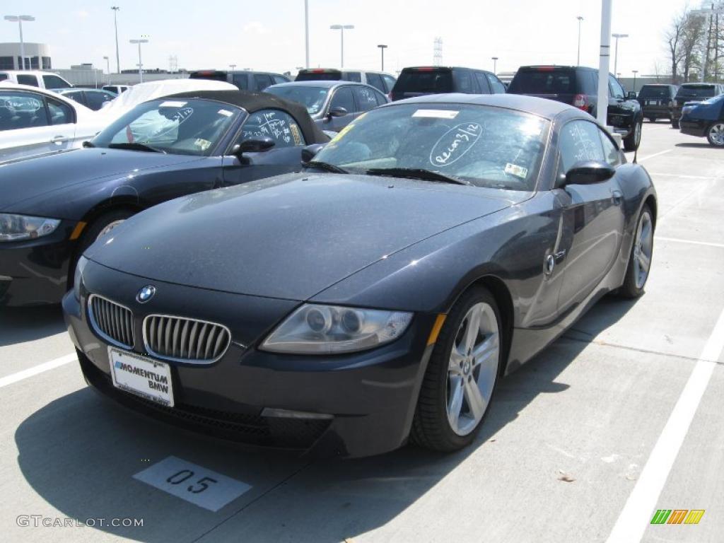 2007 Monaco Blue Metallic Bmw Z4 3 0si Coupe 27169714 Gtcarlot Com Car Color Galleries