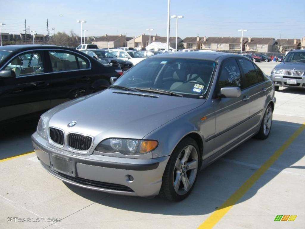 2004 Silver Grey Metallic Bmw 3 Series 325i Sedan