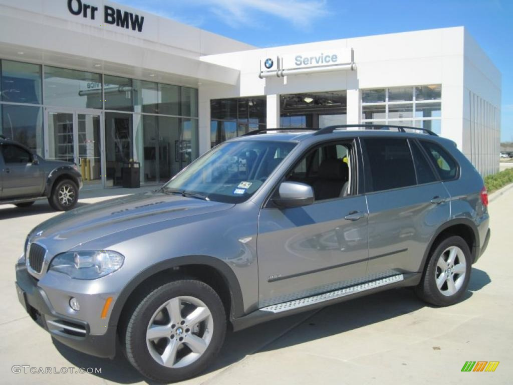 2008 space grey metallic bmw x5 3.0si #27169619 | gtcarlot