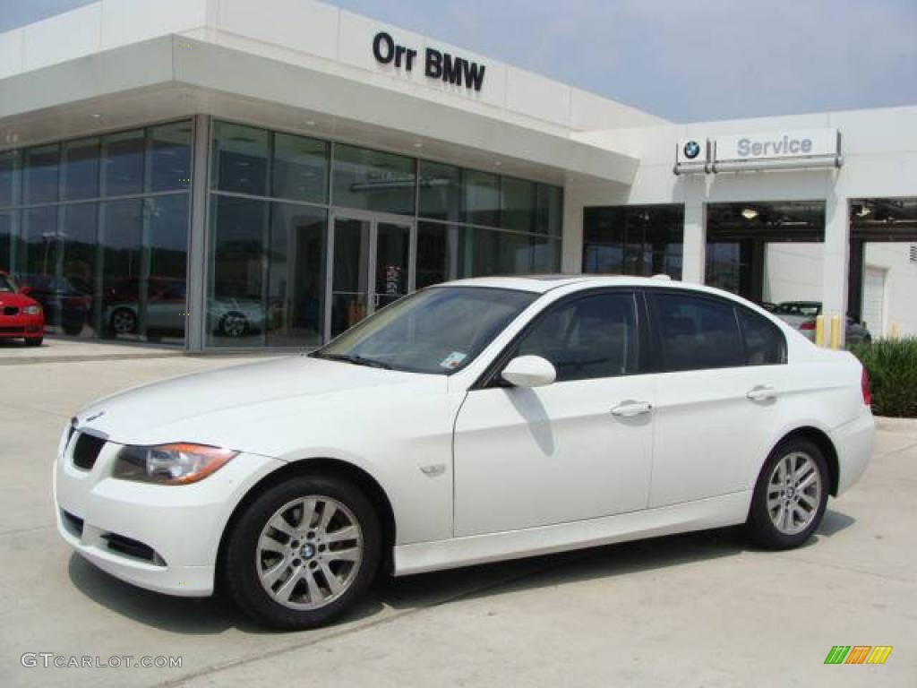 2006 Alpine White Bmw 3 Series 325i Sedan 27169651