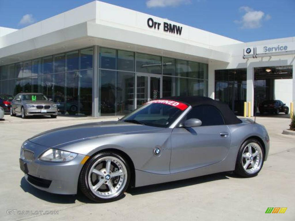 2006 Silver Grey Metallic Bmw Z4 3 0si Roadster 27169658