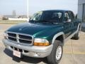 2004 Timberline Green Pearl Dodge Dakota SLT Quad Cab 4x4  photo #2