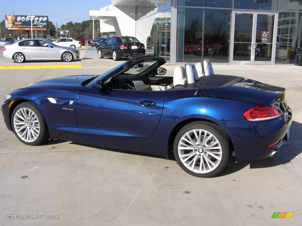 2009 Deep Sea Blue Metallic Bmw Z4 Sdrive35i Roadster