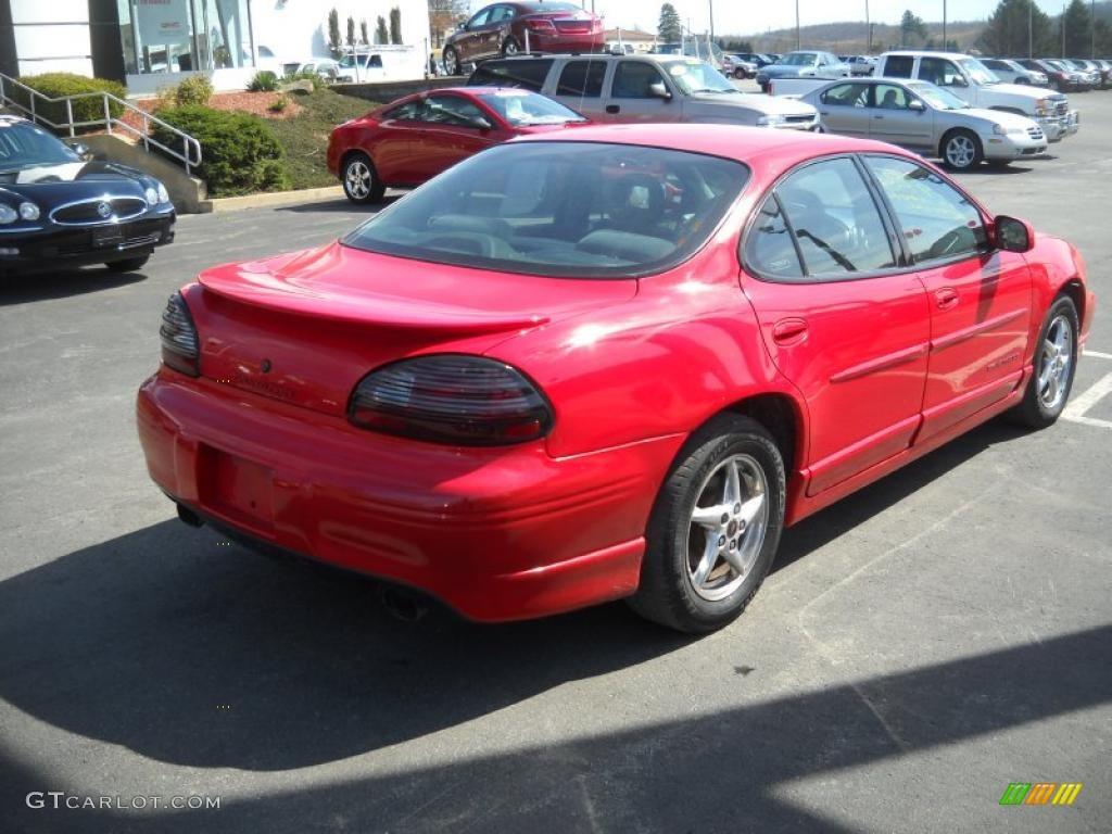 2001 bright red pontiac grand prix gt sedan 27235250 photo 2 gtcarlot com car color galleries gtcarlot com