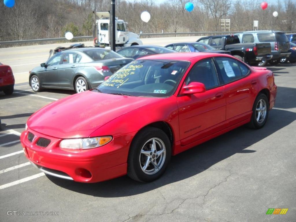 2001 bright red pontiac grand prix gt sedan 27235250 photo 13 gtcarlot com car color galleries gtcarlot com
