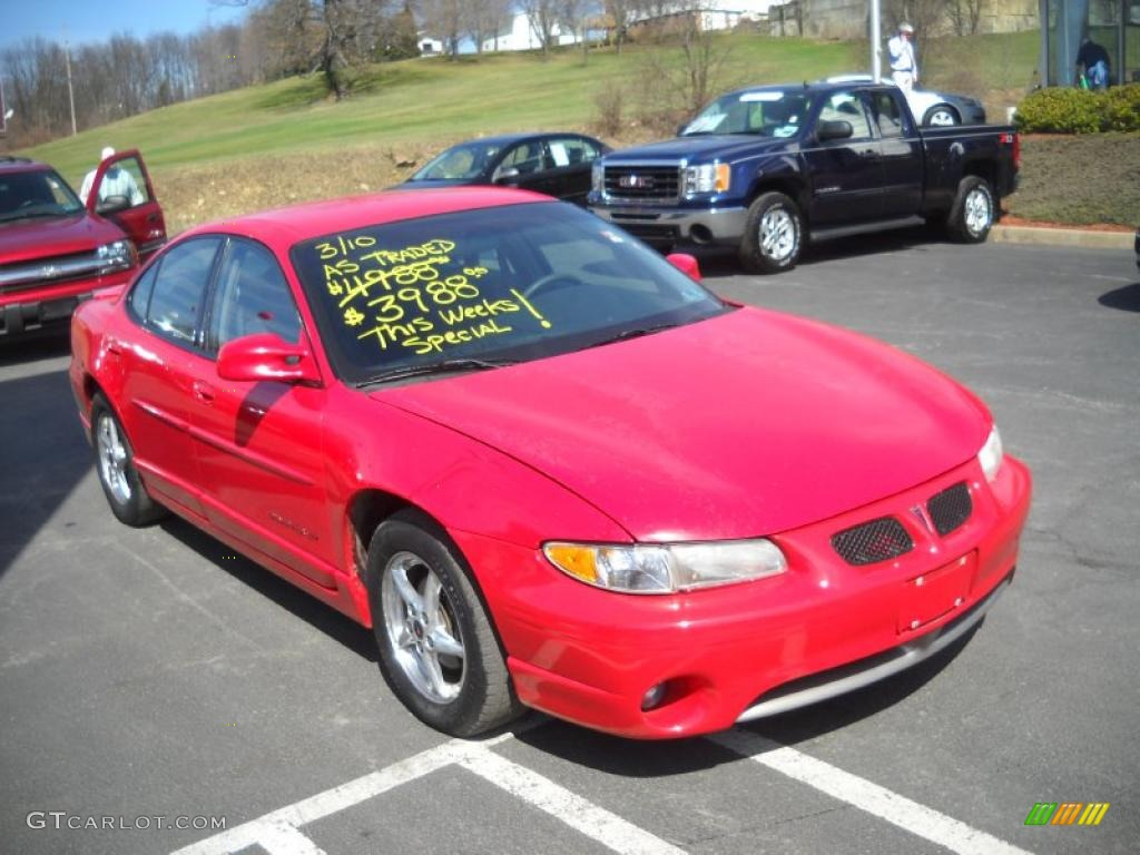 2001 bright red pontiac grand prix gt sedan 27235250 photo 15 gtcarlot com car color galleries gtcarlot com