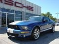 2007 Vista Blue Metallic Ford Mustang Shelby GT500 Coupe  photo #1