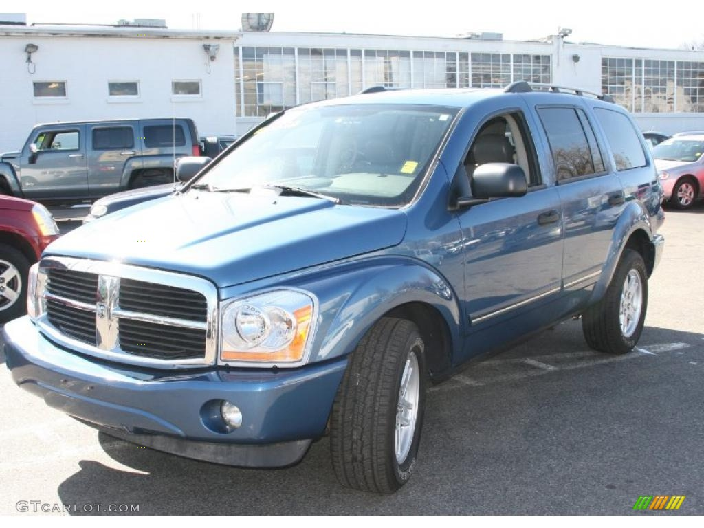 2006 atlantic blue pearl dodge durango limited hemi 4x4. Black Bedroom Furniture Sets. Home Design Ideas