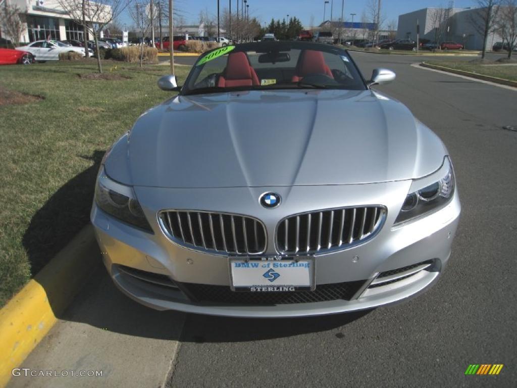 2009 Titanium Silver Metallic Bmw Z4 Sdrive35i Roadster 27234909 Gtcarlot Com Car Color