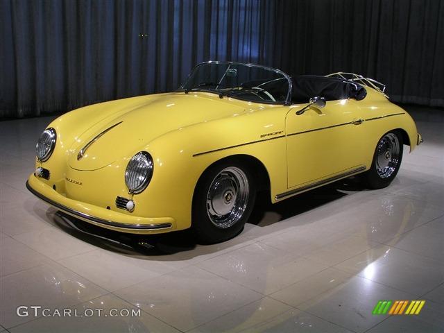 1957 Yellow Porsche 356 Speedster Recreation 272433 Photo
