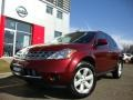 2007 Merlot Pearl Nissan Murano S AWD  photo #1