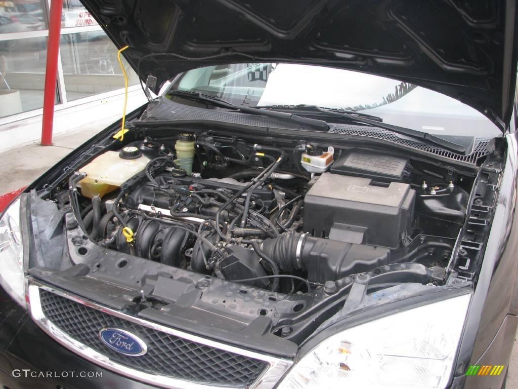 2005 Focus ZX3 SE Coupe - Pitch Black / Dark Flint/Light Flint photo #30