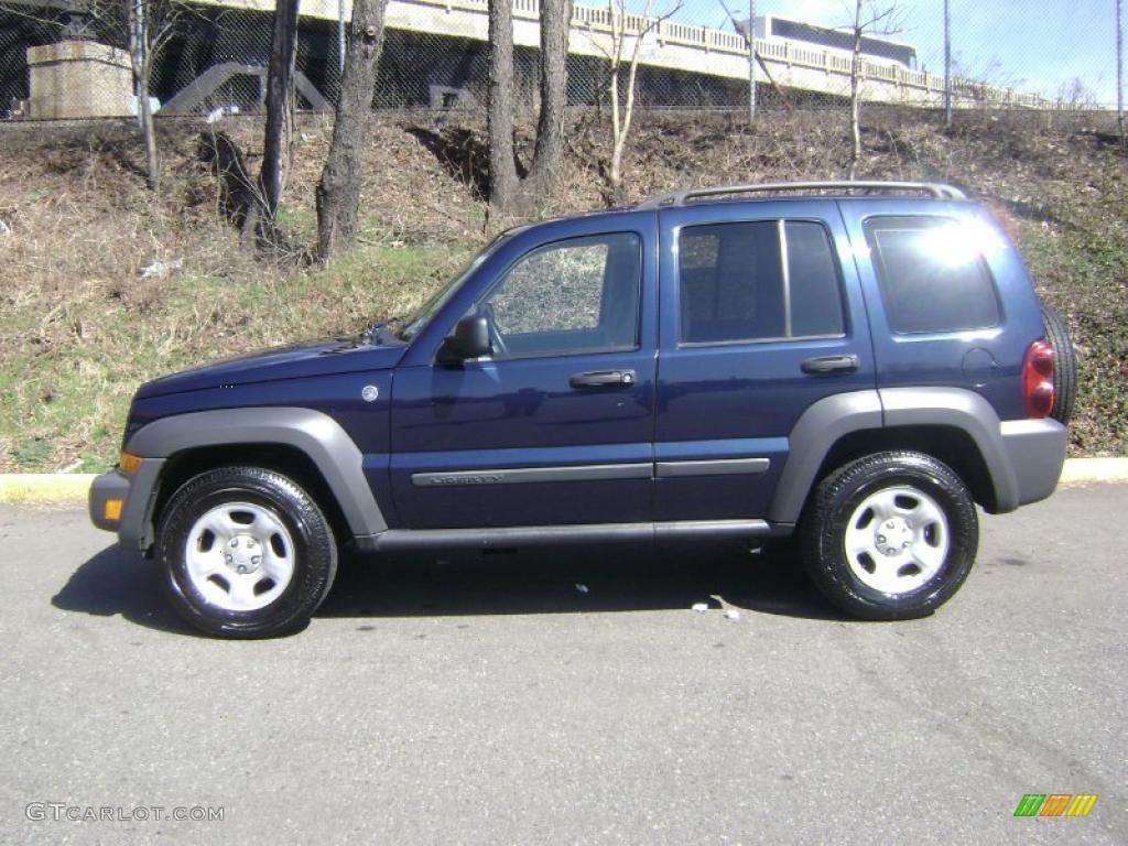 2006 midnight blue pearl jeep liberty sport 4x4 #27235389