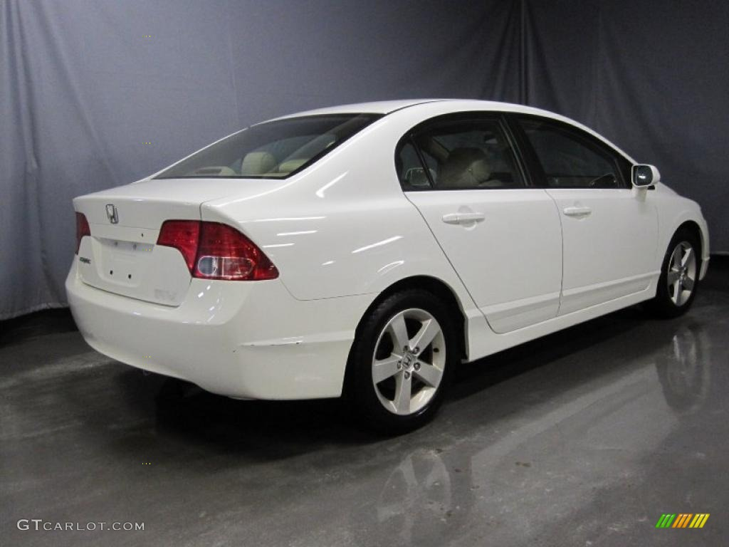2006 taffeta white honda civic ex sedan 27235396 photo 3