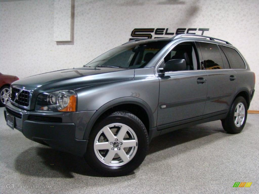 2006 titanium gray metallic volvo xc90 2 5t 27235157 car color galleries. Black Bedroom Furniture Sets. Home Design Ideas