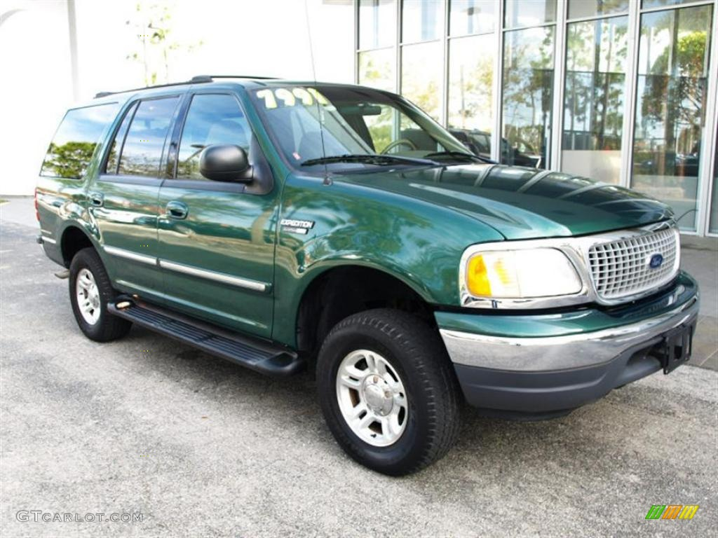 1999 tropic green metallic ford expedition xlt 4x4. Black Bedroom Furniture Sets. Home Design Ideas
