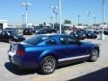 2007 Vista Blue Metallic Ford Mustang Shelby GT500 Coupe  photo #7