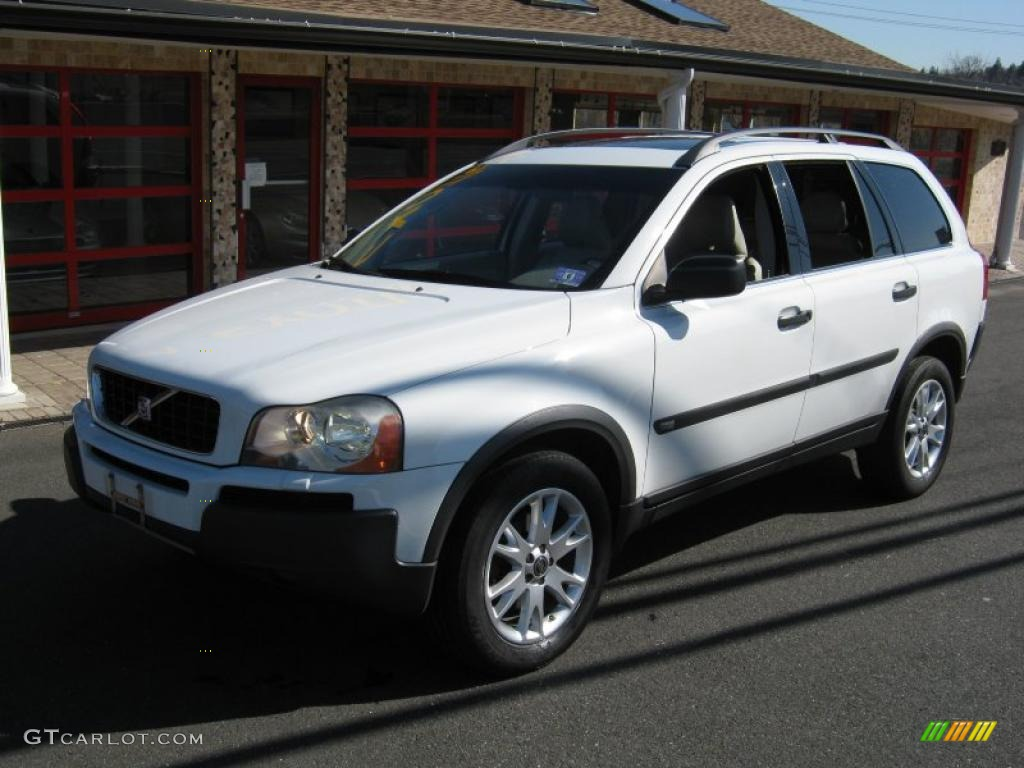 2005 ice white volvo xc90 t6 awd 27235743 photo 2 car color galleries. Black Bedroom Furniture Sets. Home Design Ideas