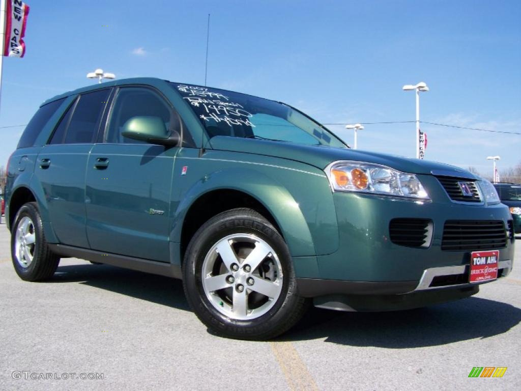 2007 Cypress Green Saturn Vue Line Hybrid 27324699