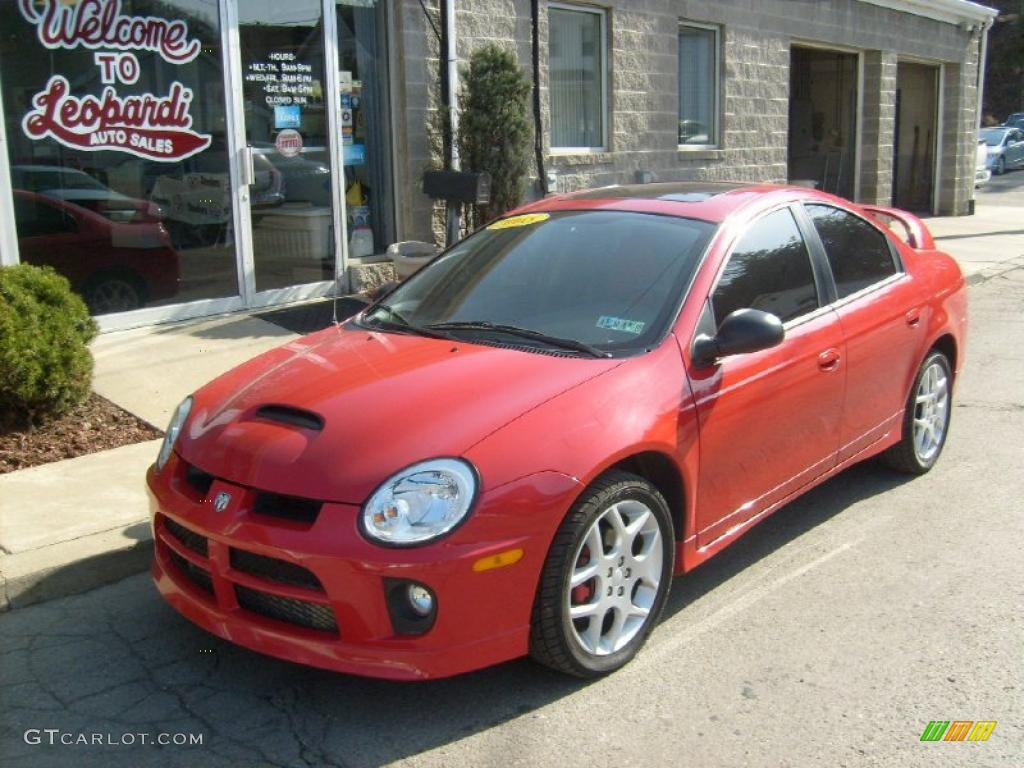 2005 Flame Red Dodge Neon Srt 4 27325076 Photo 5