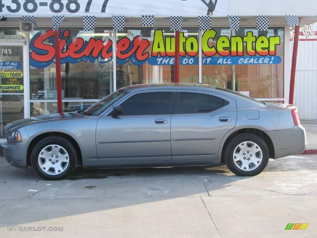 2007 Silver Steel Metallic Dodge Charger #2725017 | GTCarLot