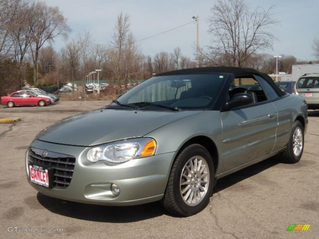 2004 satin jade pearl chrysler sebring touring convertible 27324870. Cars Review. Best American Auto & Cars Review