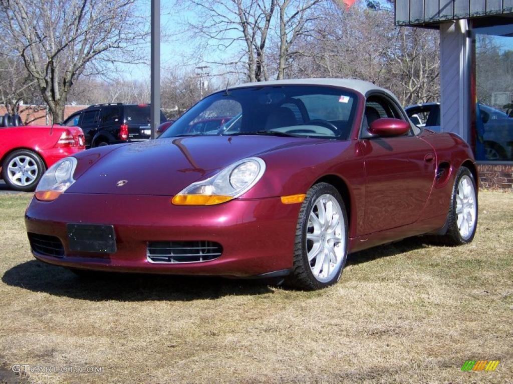 1999 Arena Red Metallic Porsche Boxster 27235544 Gtcarlot Com Car Color Galleries