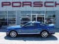 2007 Vista Blue Metallic Ford Mustang Shelby GT500 Coupe  photo #14