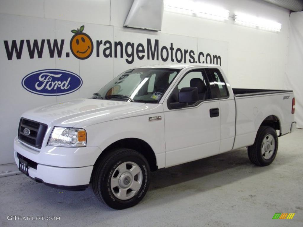 2004 oxford white ford f150 stx regular cab 27324928. Black Bedroom Furniture Sets. Home Design Ideas