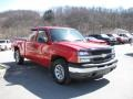 2005 Victory Red Chevrolet Silverado 1500 LS Extended Cab 4x4  photo #5