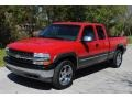 Victory Red 2000 Chevrolet Silverado 1500 LS Extended Cab 4x4