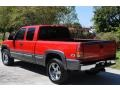 2000 Victory Red Chevrolet Silverado 1500 LS Extended Cab 4x4  photo #4