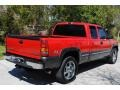 2000 Victory Red Chevrolet Silverado 1500 LS Extended Cab 4x4  photo #7