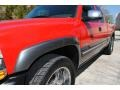 2000 Victory Red Chevrolet Silverado 1500 LS Extended Cab 4x4  photo #13