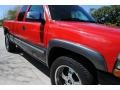 2000 Victory Red Chevrolet Silverado 1500 LS Extended Cab 4x4  photo #14